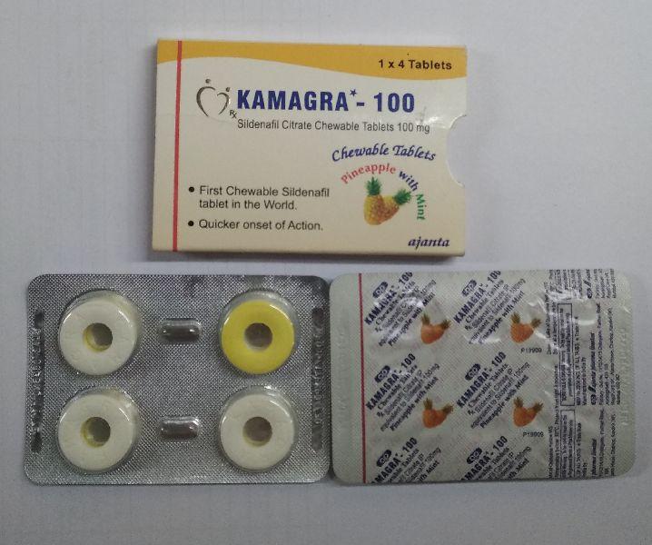 Kamagra 100 Chewable Tablet