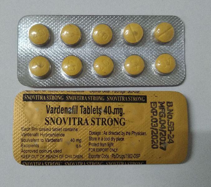 Snovitra Strong Tablet