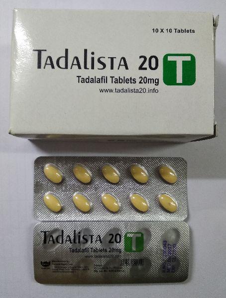 Tadalista 20 mg Tablet