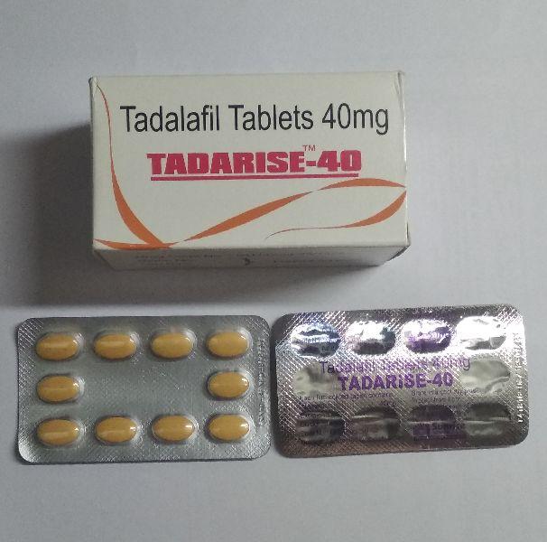 Tadarise 40 mg Tablet