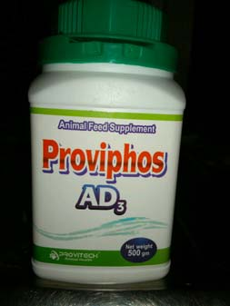Proviphos AD3 Animal Powder Feed Supplement