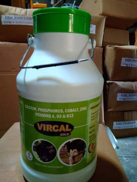 Vircal Calcium Suspension Liquid Feed Supplement