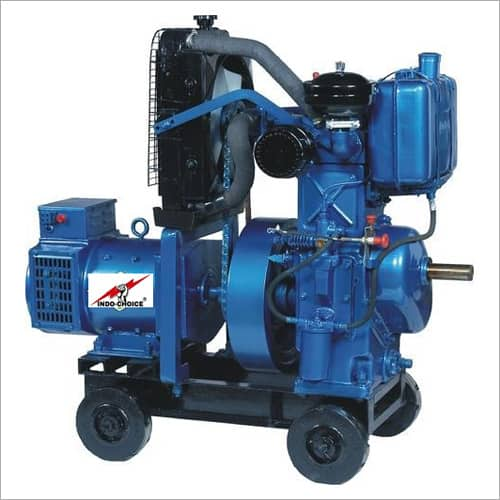 Double Phase Air Cooled Diesel Generator