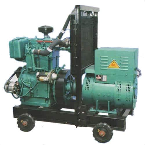Double Phase Water Air Cooled Diesel Generator