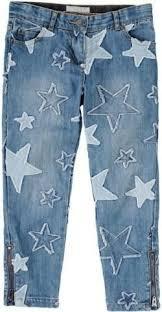 Kids Printed Jeans