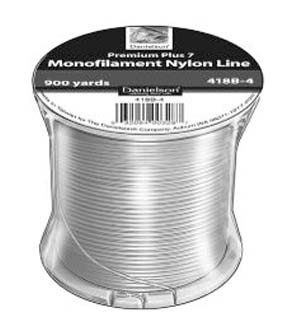 Silver Nylon Monofilament Fishing Line