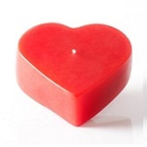 Heart Shaped Floating Candle