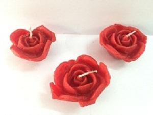 Rose Shaped Floating Candle