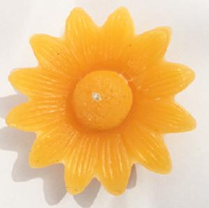 Sunflower Shaped Floating Candle