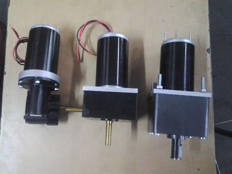 25W 1500 RPM 24VDC PMDC Brush Motors
