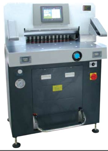 Hydraulic Paper Cutting Machine 02