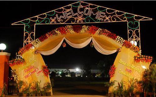Entrance Gate Flower Decoration