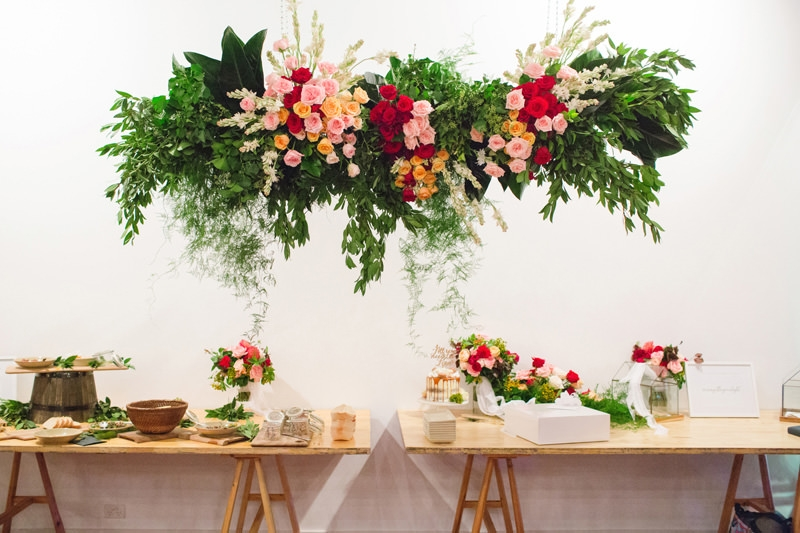Reception Flower Decoration