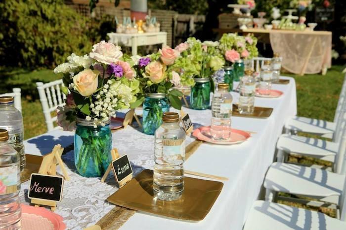 Theme Parties Flower Decoration