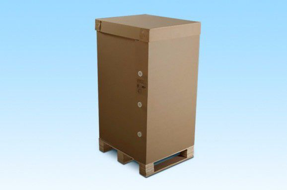 Control Panel Packaging Box with Rotolock Concept