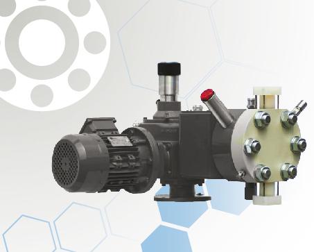 Power Series Hydraulic Double Diaphragm Metering Pump