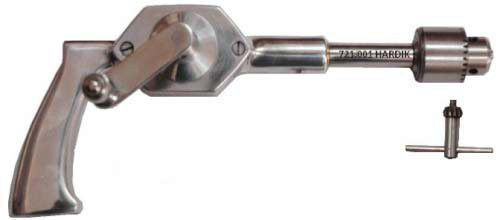 1193.001 Hand Drill with Chuck & Key