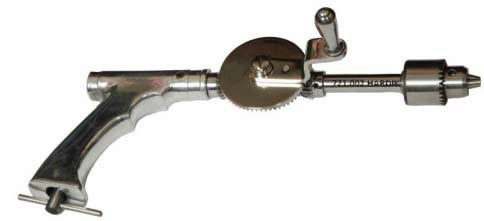 1194.001 Open Gear Hand Drill with Chuck & Key