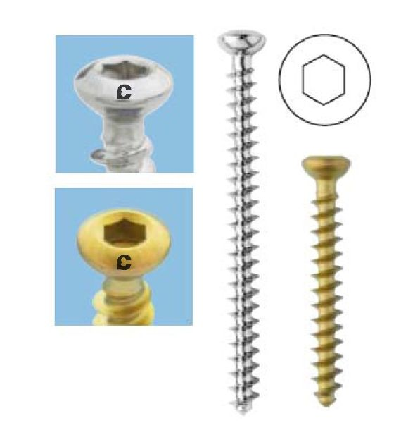 134 Cancellous Screw 4.0mm (Full Th.)