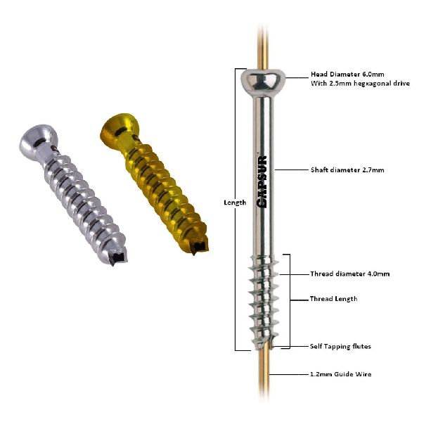139 4.0mm Cannulated Screw (Full Thread)