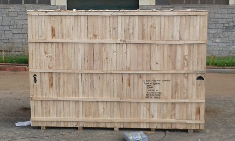 Export Wooden Box 01