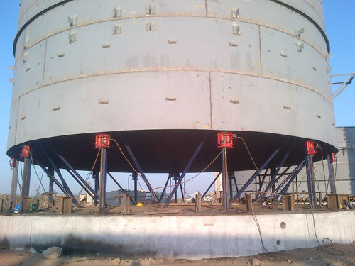 Egypt Tank Erection & Jacking System