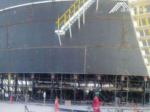 Jordan Storage Tank Construction Jacking System