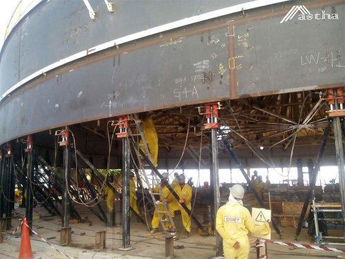 Oil Storage Tank Jacking System