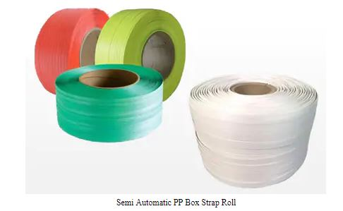 Semi - Automatic Box Strap Rolls 02