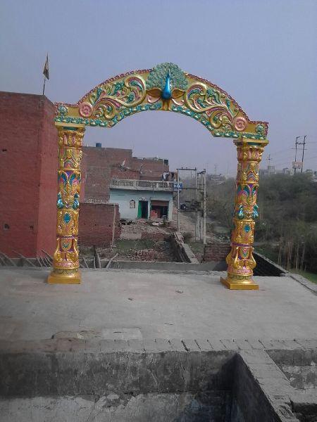Peacock Style Wedding Entrance Decor Gate