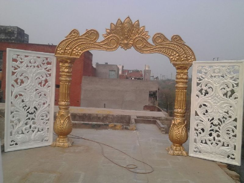 Peacock Style Wedding Entrance Decoration Gate