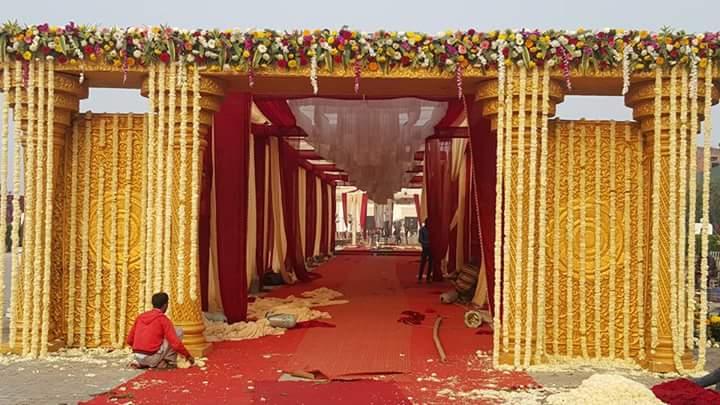 Entrance Gate for Wedding Decor & Event Decor
