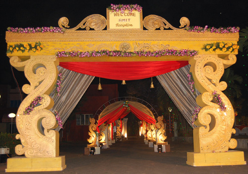 Wedding Decorative Fiber Gate