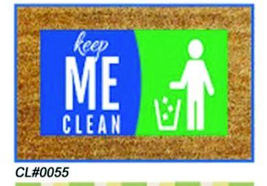 PVC Backed Keep Me Clean Coir Mats