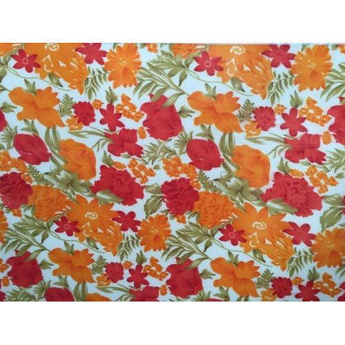 Polypropylene Door Flower Printed Sheets