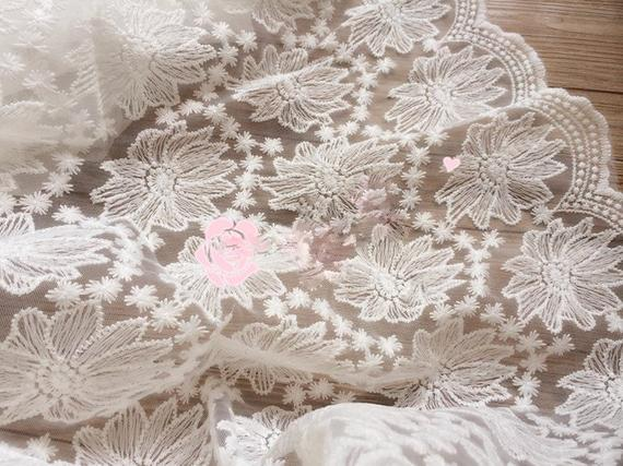 Lace Embroidered Fabric