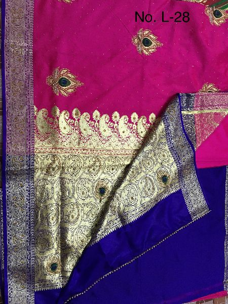 Nylon Karishma Embroidered Sarees