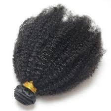 4B Curly Hair Extension