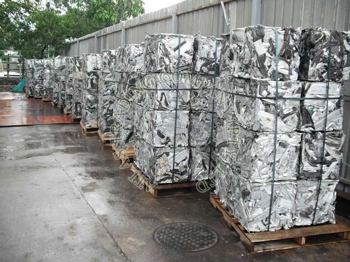 Aluminum 6063 Extrusion Scrap