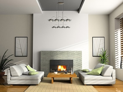 Living Room Interior Designing Service 01