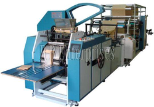 Paper Bag Making Machine 02