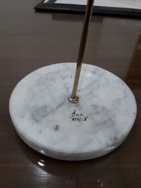 White Marble Circle