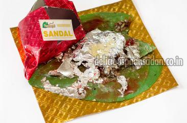 Sandal with Khus Paan