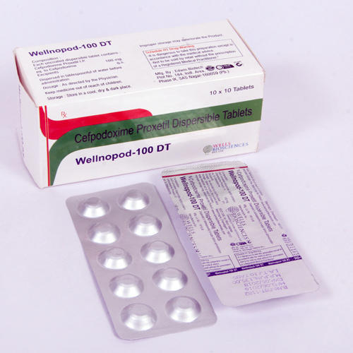 100mg Cefpodoxime DT Tablets