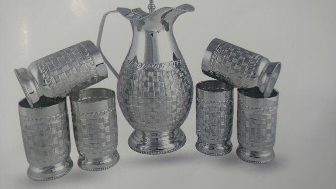 Silver Jug Set