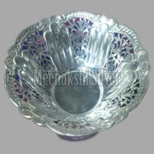 Silver Dish Plate  02