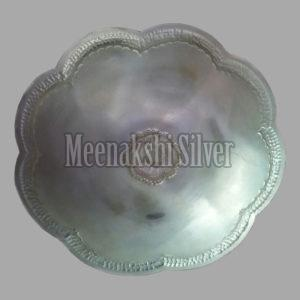 Silver Dish Plate 05