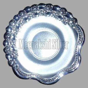 Silver Dish Plate 11