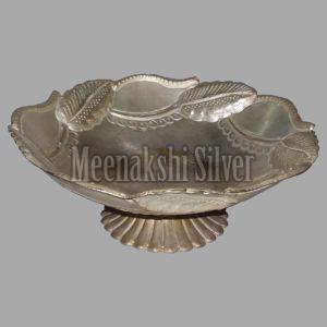 Silver Dish Plate 14