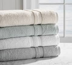 Cotton Plain Bath Towels